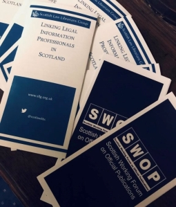SLLG and SWOP leaflets (credit S. Wilson)
